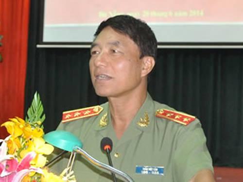 Thượng tướng Trần Việt Tân